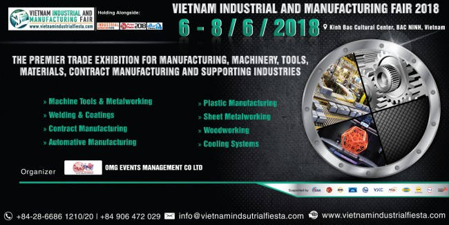 Vietnam Industrial & Manufacturing Fair 2018